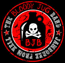 Bloody jug band logo