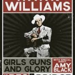 Girls Guns and Glory Hank Williams affiche